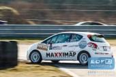 Maarten van der Heijden - Henk Keitz - Peugeot 208 VTI 125 R2 - Circuit Short Rally - Circuit Park Zandvoort
