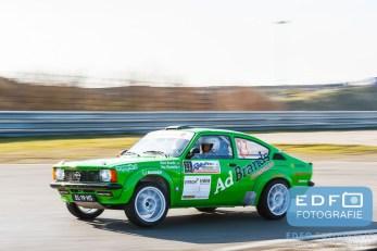 Mark Brands - Roy Vincentie - Opel Kadett C GTE - Circuit Short Rally - Circuit Park Zandvoort