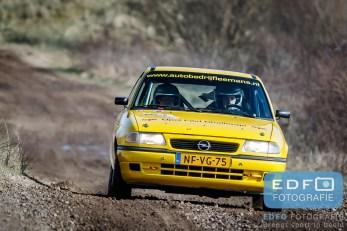 Roald Leemans - Christer van Waardenburg - Opel Astra F GSi 16V - Circuit Short Rally - Circuit Park Zandvoort