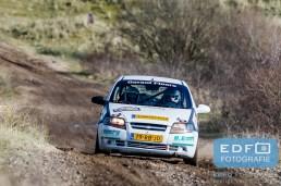 Jurgen van Hooijdonk - Anita Ruttenberg - Chevrolet Kalos - Circuit Short Rally - Circuit Park Zandvoort