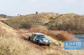 Harry Martens - Marcel Schoneveld - Citroen DS 23 ie - Circuit Short Rally - Circuit Park Zandvoort