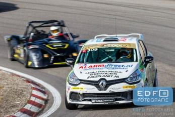 Sebastiaan Bleekemolen - Jeroen Bleekemolen - Team Bleekemolen 1 - Renault Clio - DNRT WEK Final 4 - Circuit Park Zandvoort