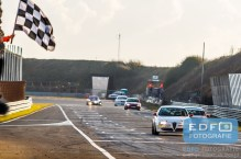 Jasper van Meerten - Jaap Haak - Daan Stots - KVMS - Alfa Romeo 147 - DNRT WEK Final 4 - Circuit Park Zandvoort