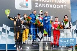 Podium DNRT WEK Final 4 - Circuit Park Zandvoort