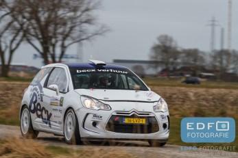 Michiel Becx - Edwin Kuijpers - Citroen DS3 R3T - Zuiderzeerally 2016