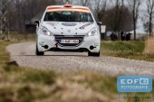 Piet-Hein van der Heijden - Nicky van Gerwen - Peugeot 208 VTi 125 R2 - Zuiderzeerally 2016