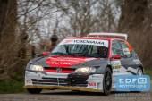 Brian Madsen - Anja Posorski - Peugeot 306 Maxi - Zuiderzeerally 2016