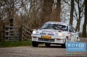 Bertram Altena - Chris Aaltink - Opel Manta i200 - Zuiderzeerally 2016