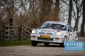 Bertram Altena - Chris Aaltink - Opel Manta i200 - Zuiderzeerally 2016