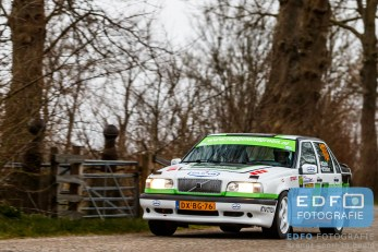 Will Bruins - Mark Schuitert - Volvo 850 T5-R - Zuiderzee Short Rally 2016