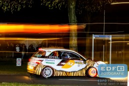 Timo van der Marel - Rebecca van der Marel - Opel Adam R2 - Zuiderzeerally 2016