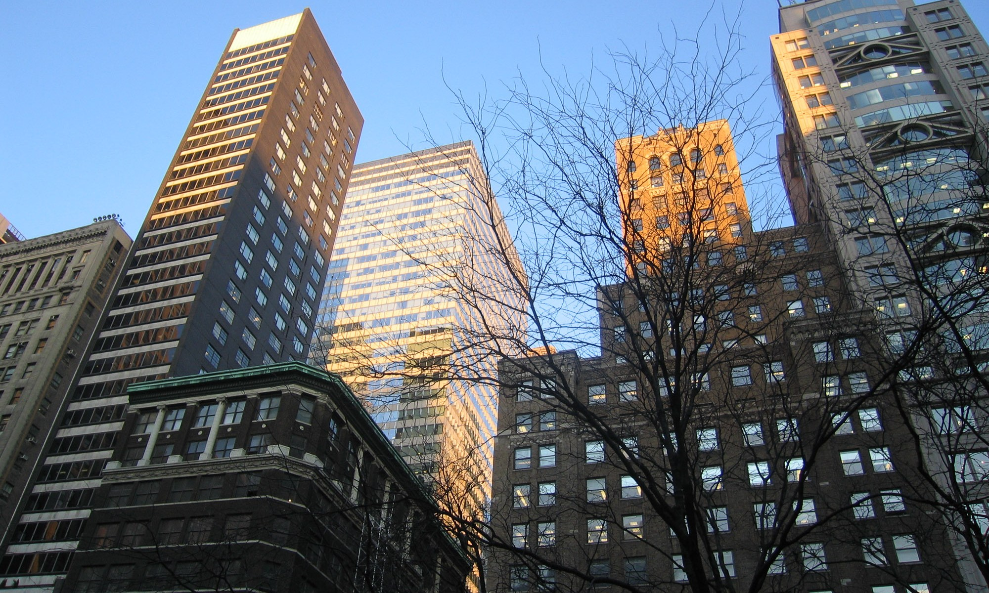 5th Ave Skyscrappers New York