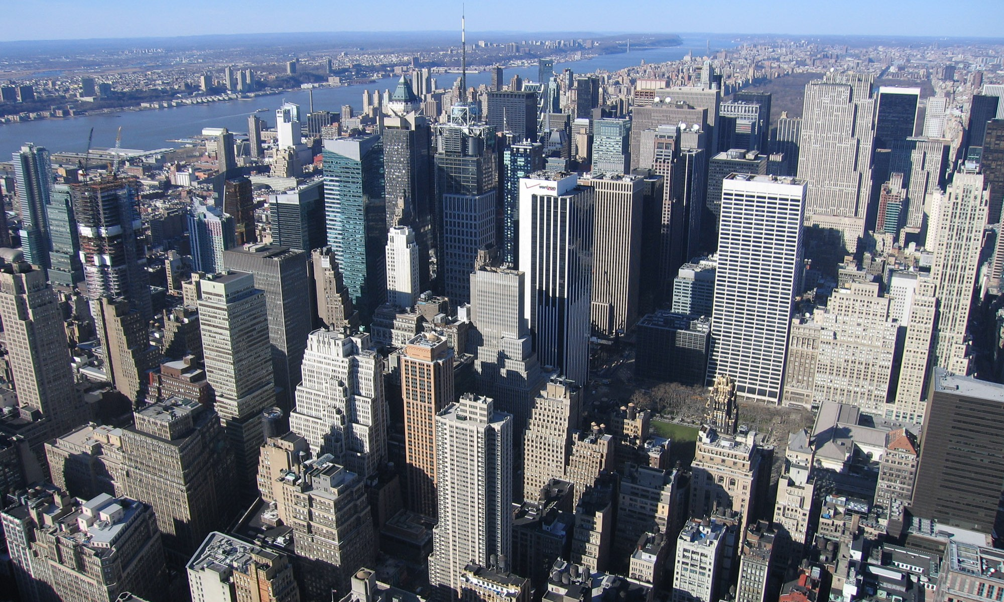 View from the Empire State Building - New York