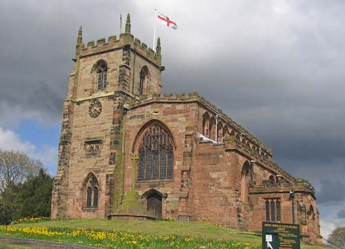 St. James Church - Audlem, Cheshire