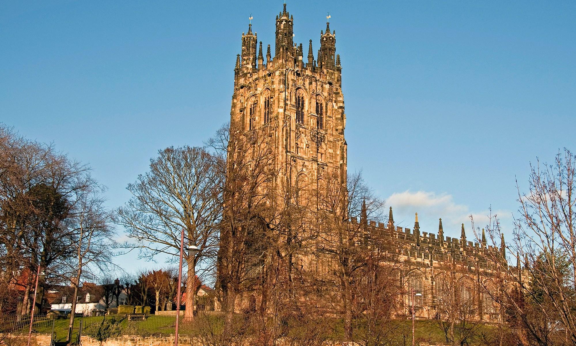 St. Giles Church Wrexham, Wales