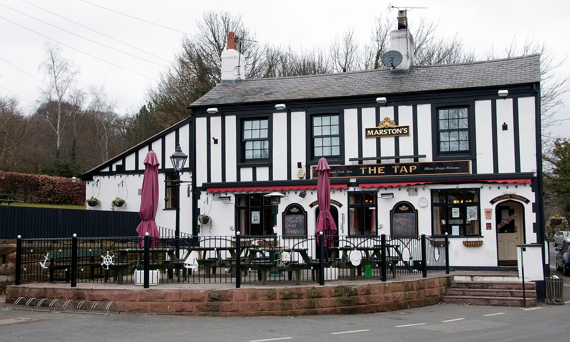 The Tap Pub at Eastham on the Wirral
