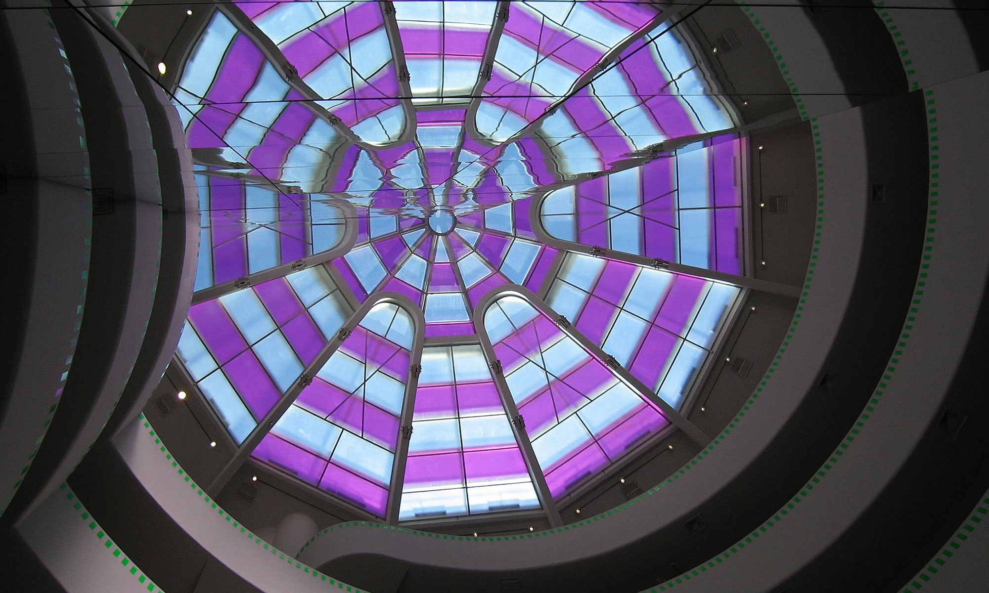 New York Guggenheim Glass Ceiling