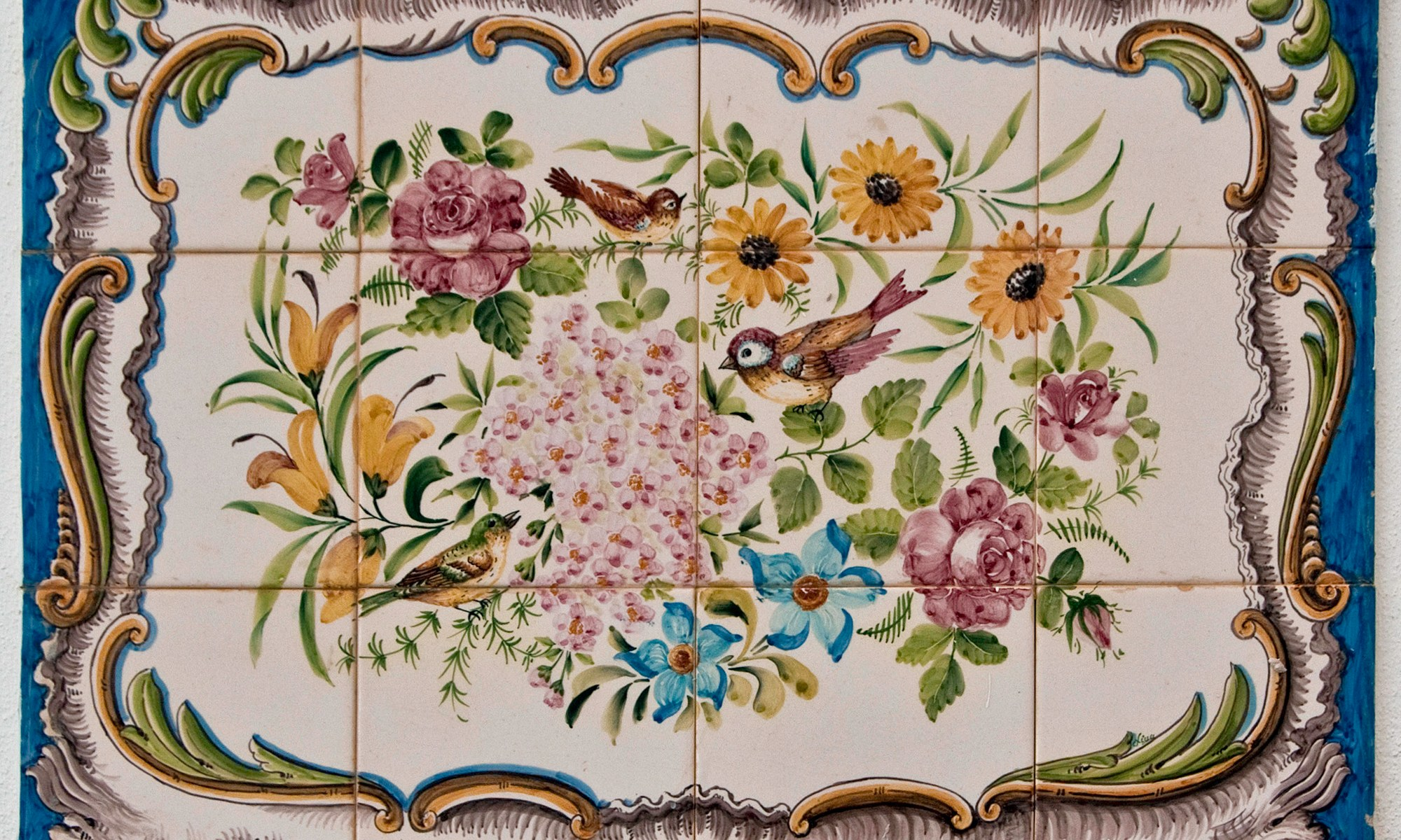 Hand Painted Tiles from Portugal