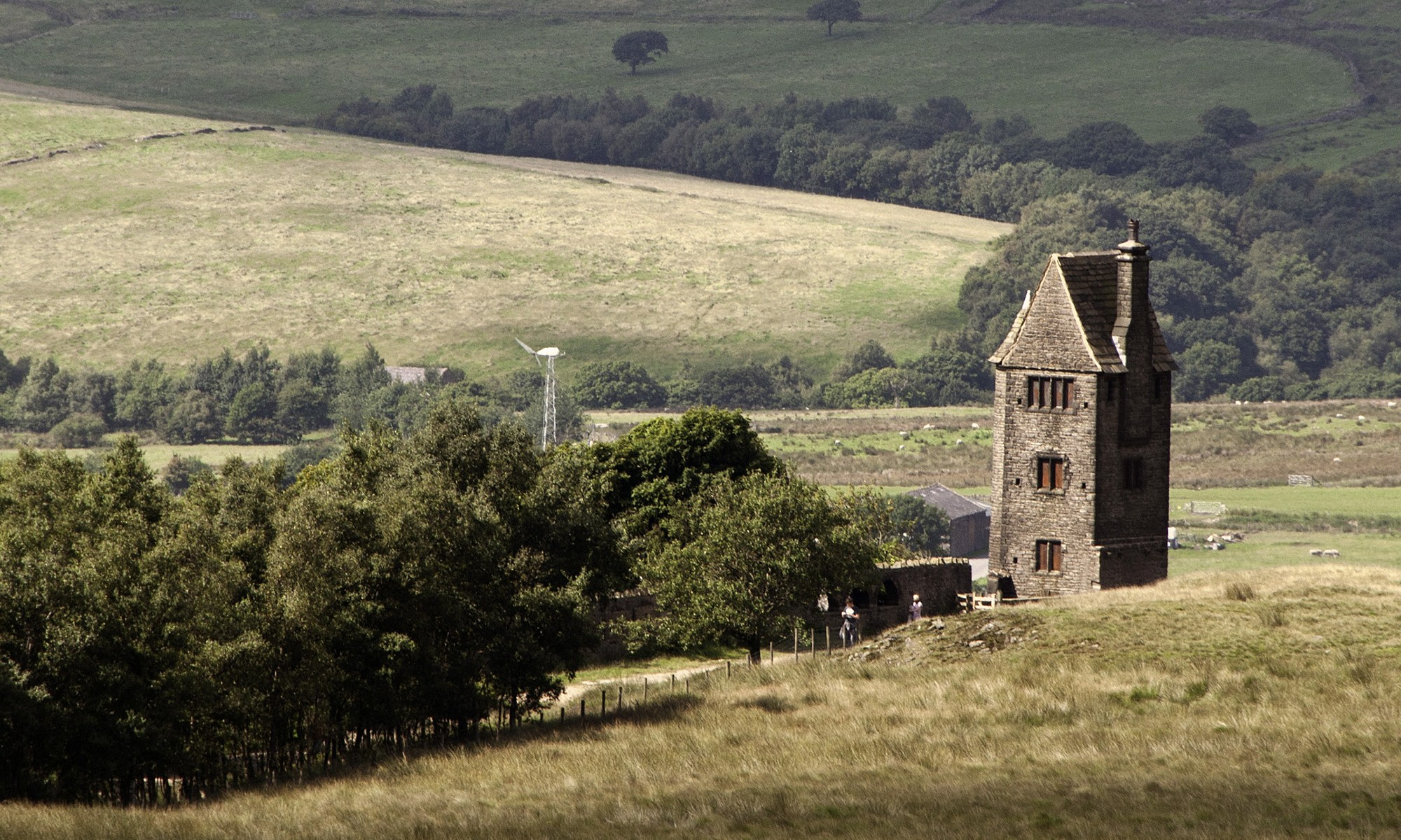 Pigeon Tower in Rivington