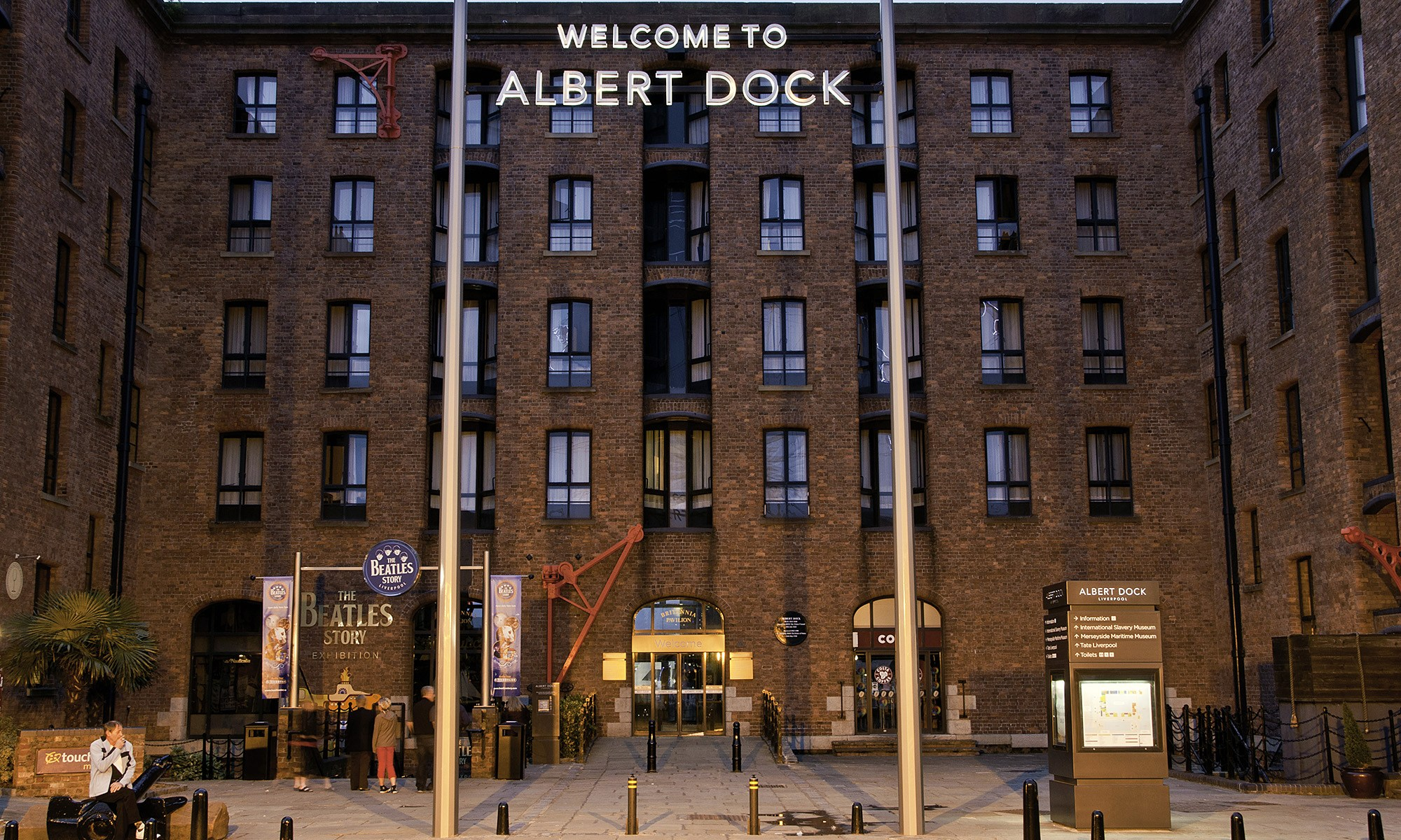 Welcome to the Albert Dock