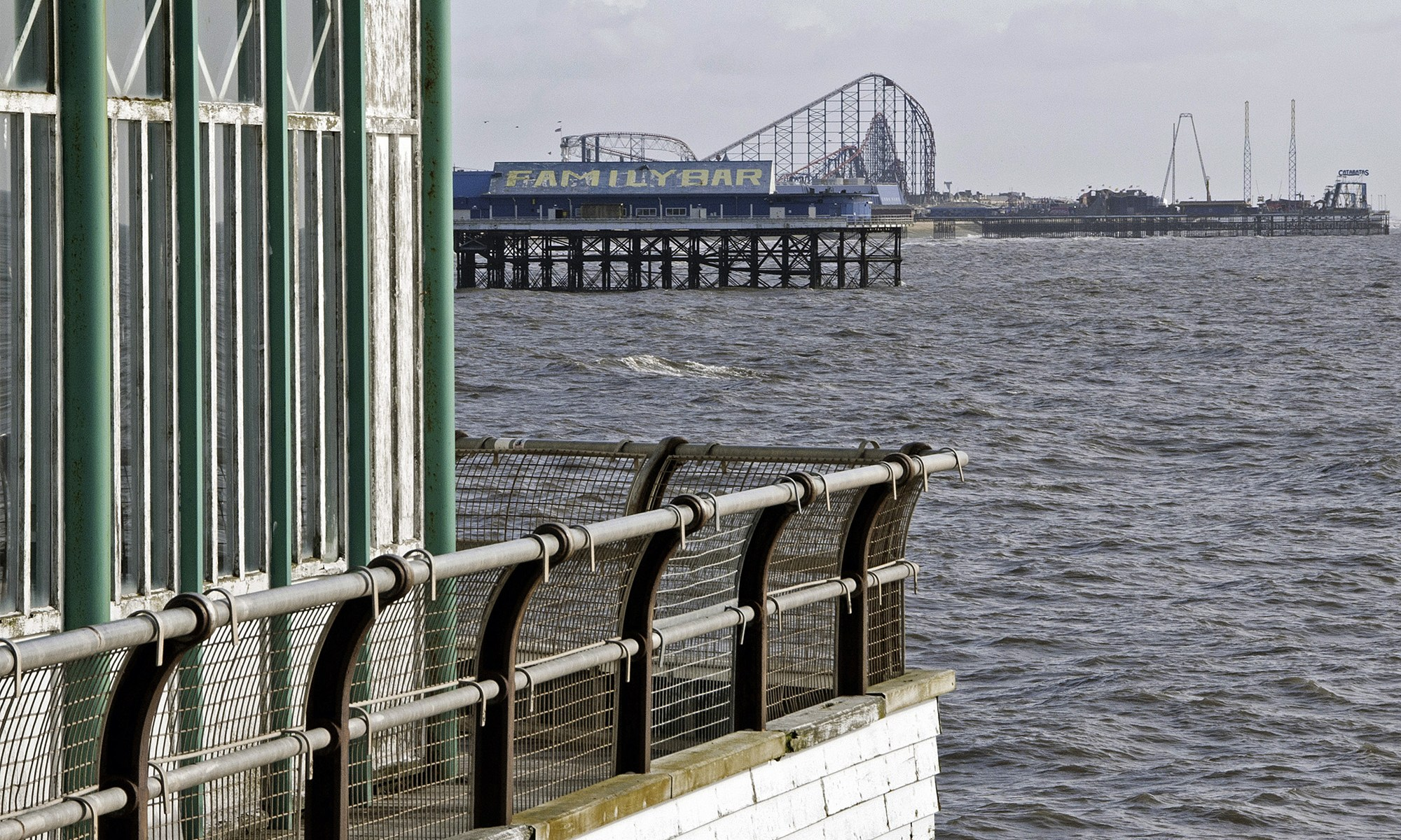 Blackpool's Three Piers
