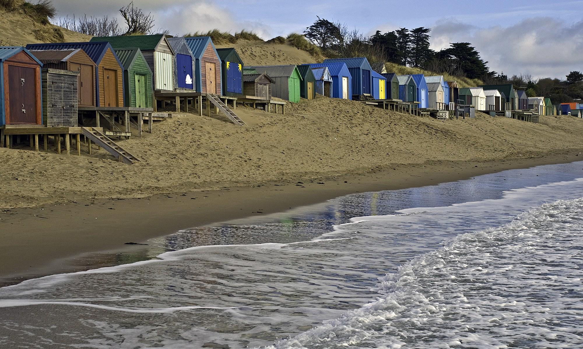 Abersoch Beach Huts Wales