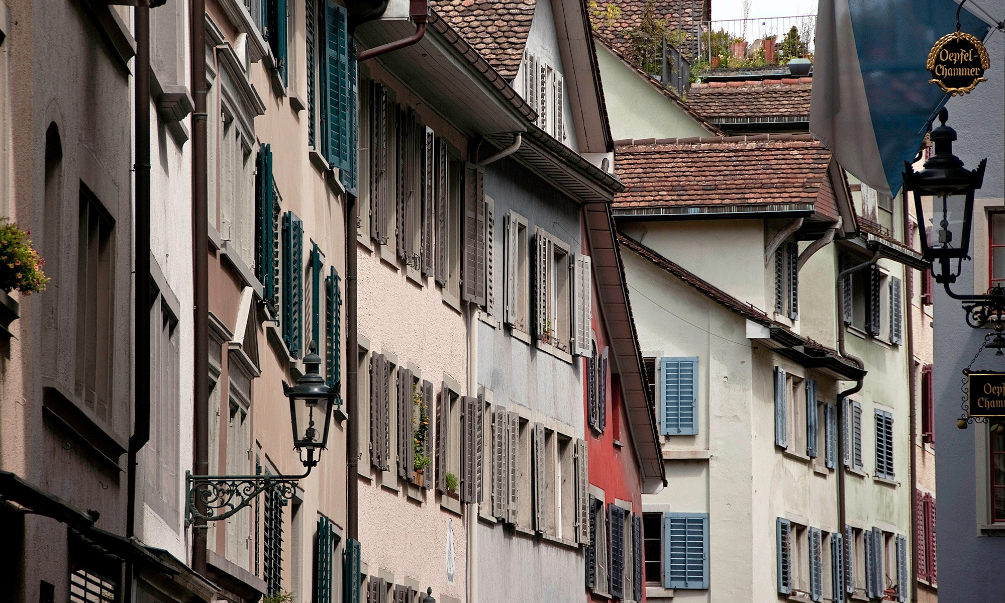 Swiss Window Shutters in Zurich