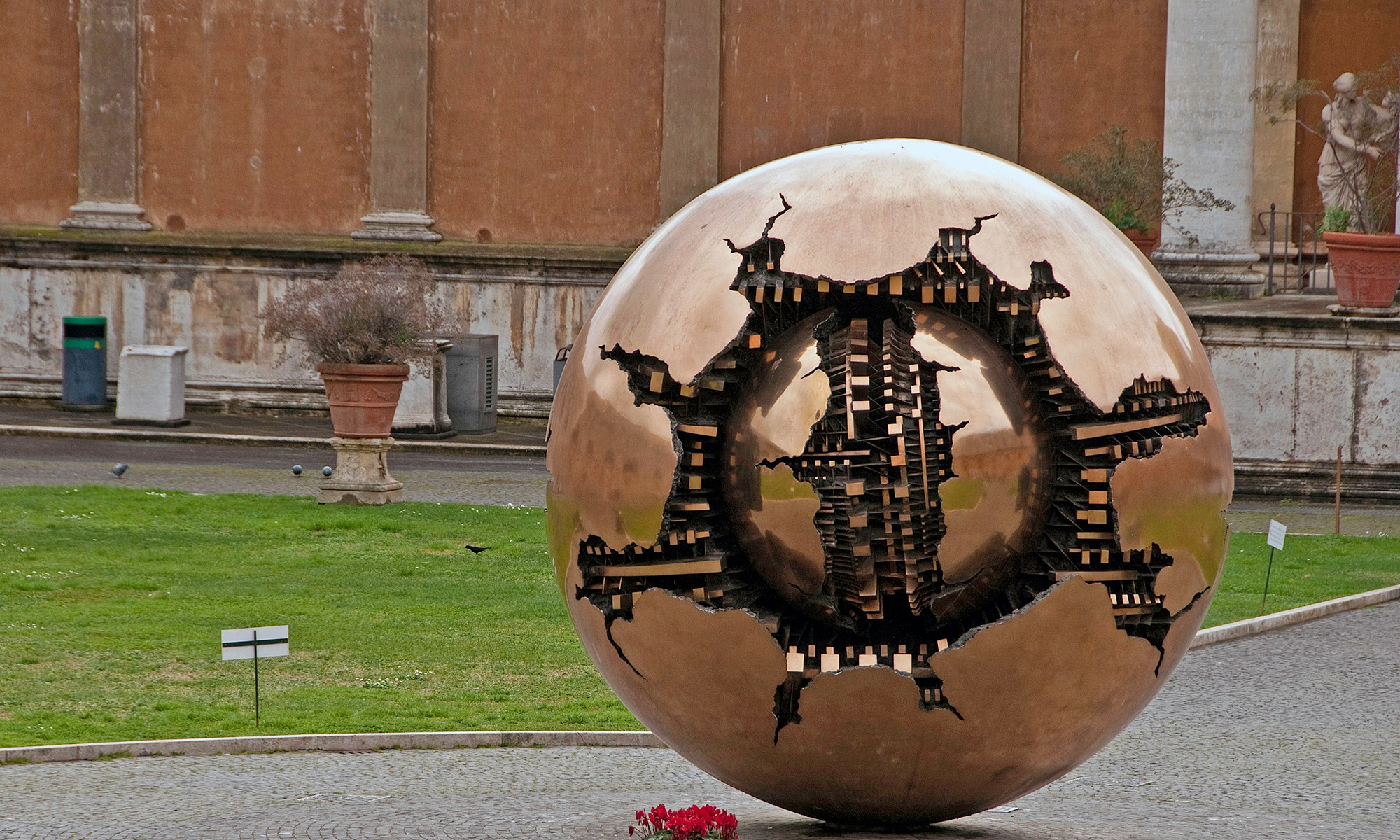 Sphere within a Sphere Sculpture