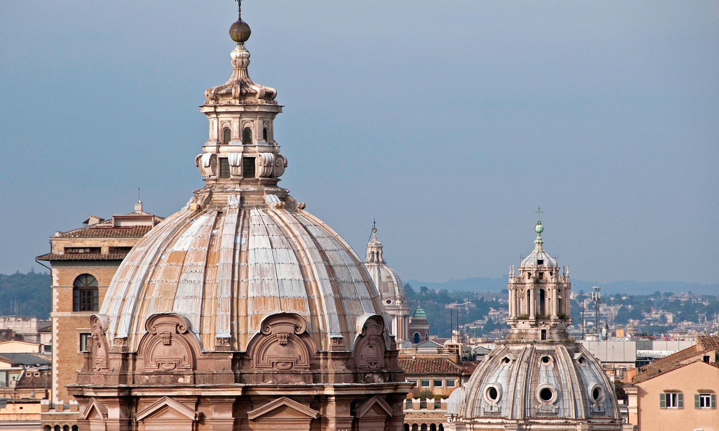 Church Domes of Rome