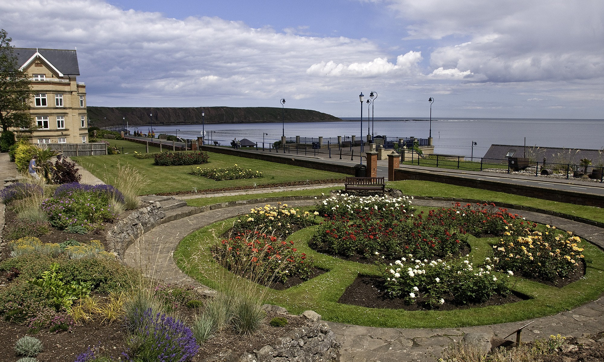 Floral Garden on Filey Coast