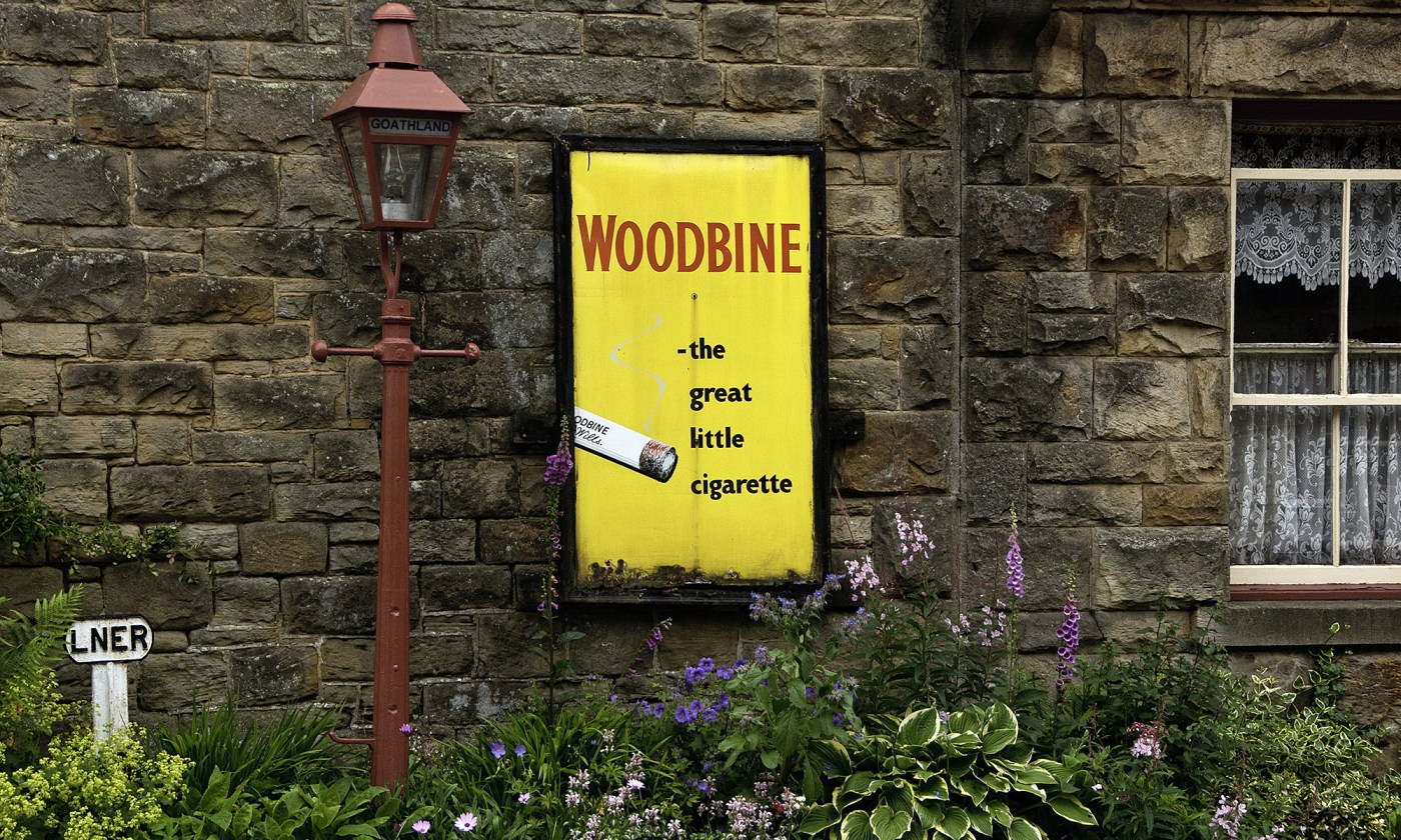 Woodbine Cigarette Advert