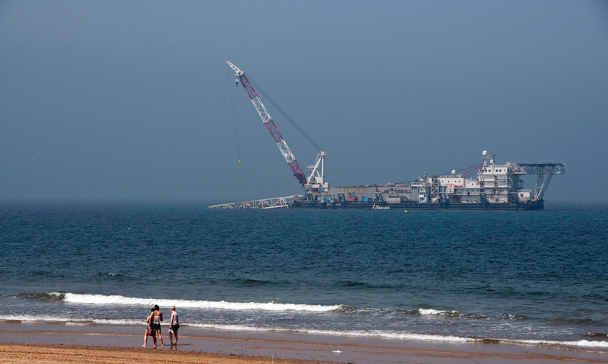 Heavy Industry by the Beach