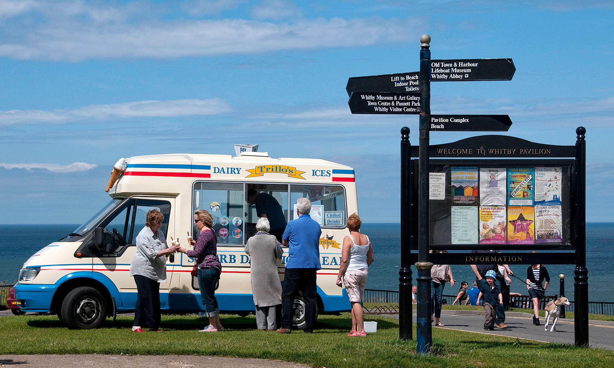 Ice Cream Van at the Seaside