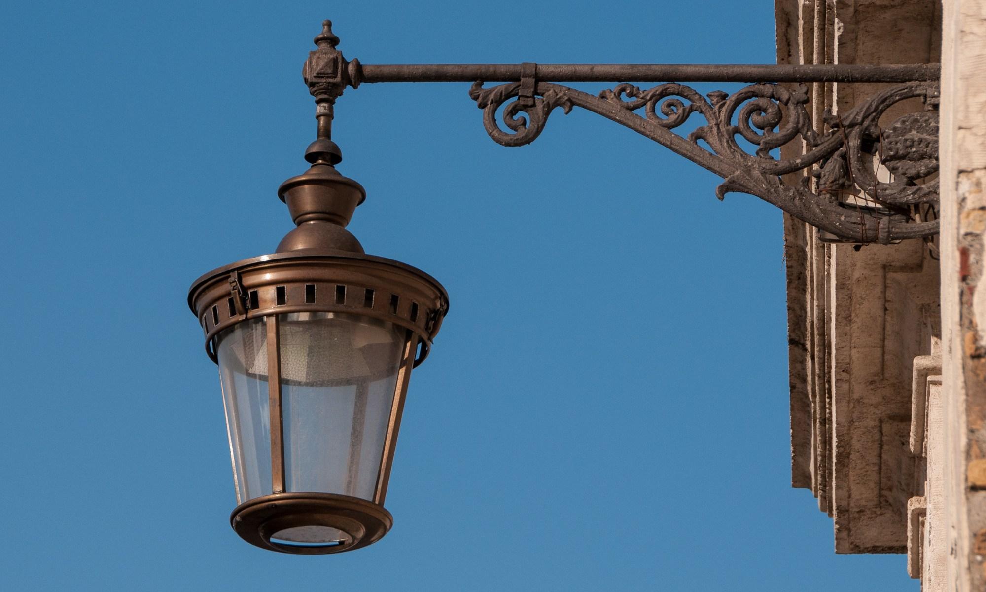 Italian Street Lamp
