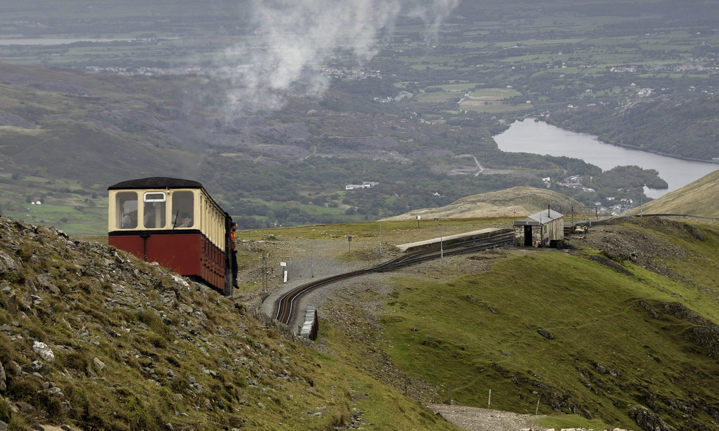 Mountain Train and Llyn Padarn