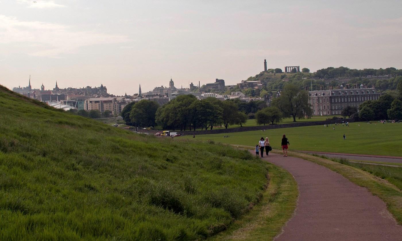 Path leading towards Edinburgh