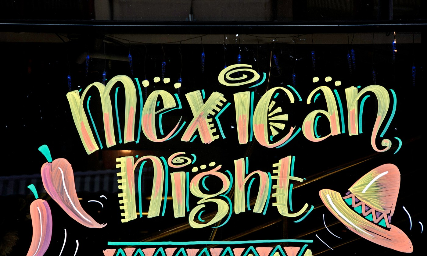 Mexican Night Sign