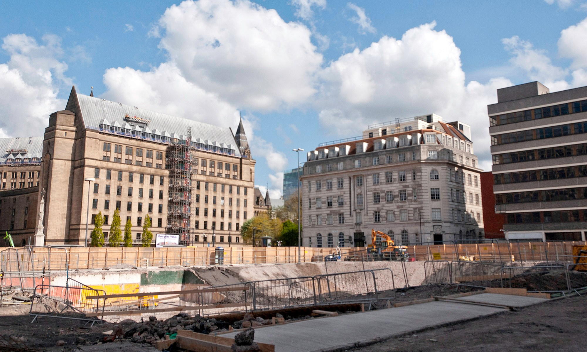 One St Peter's Square Construction Site