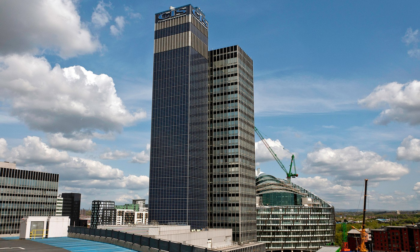 CIS Building in Manchester