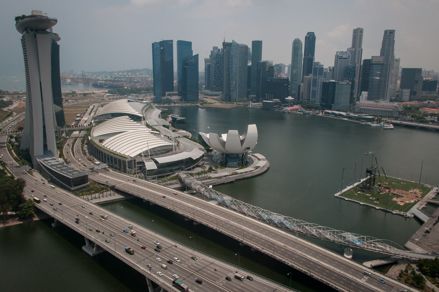 Harbour from Singapore Flyer