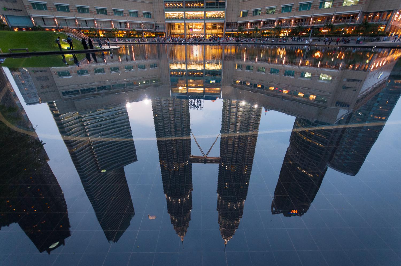 Petronas Towers Reflection