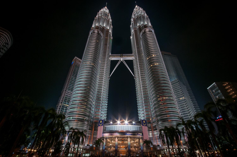 Petronas Towers main entrance