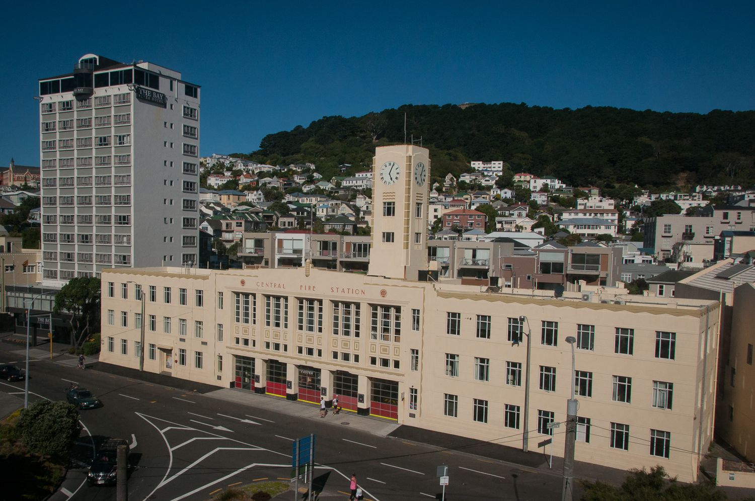 Central Fire Station Wellington
