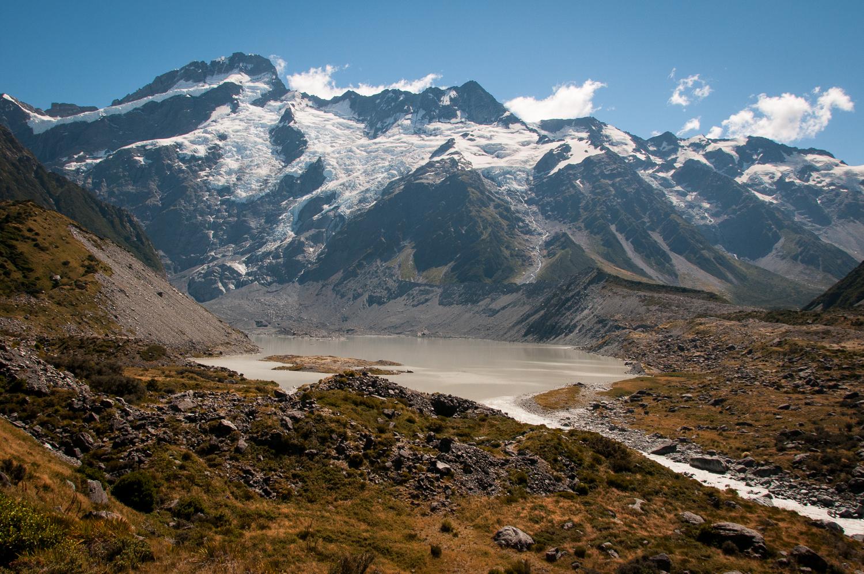 Mueller Glacier and Lake