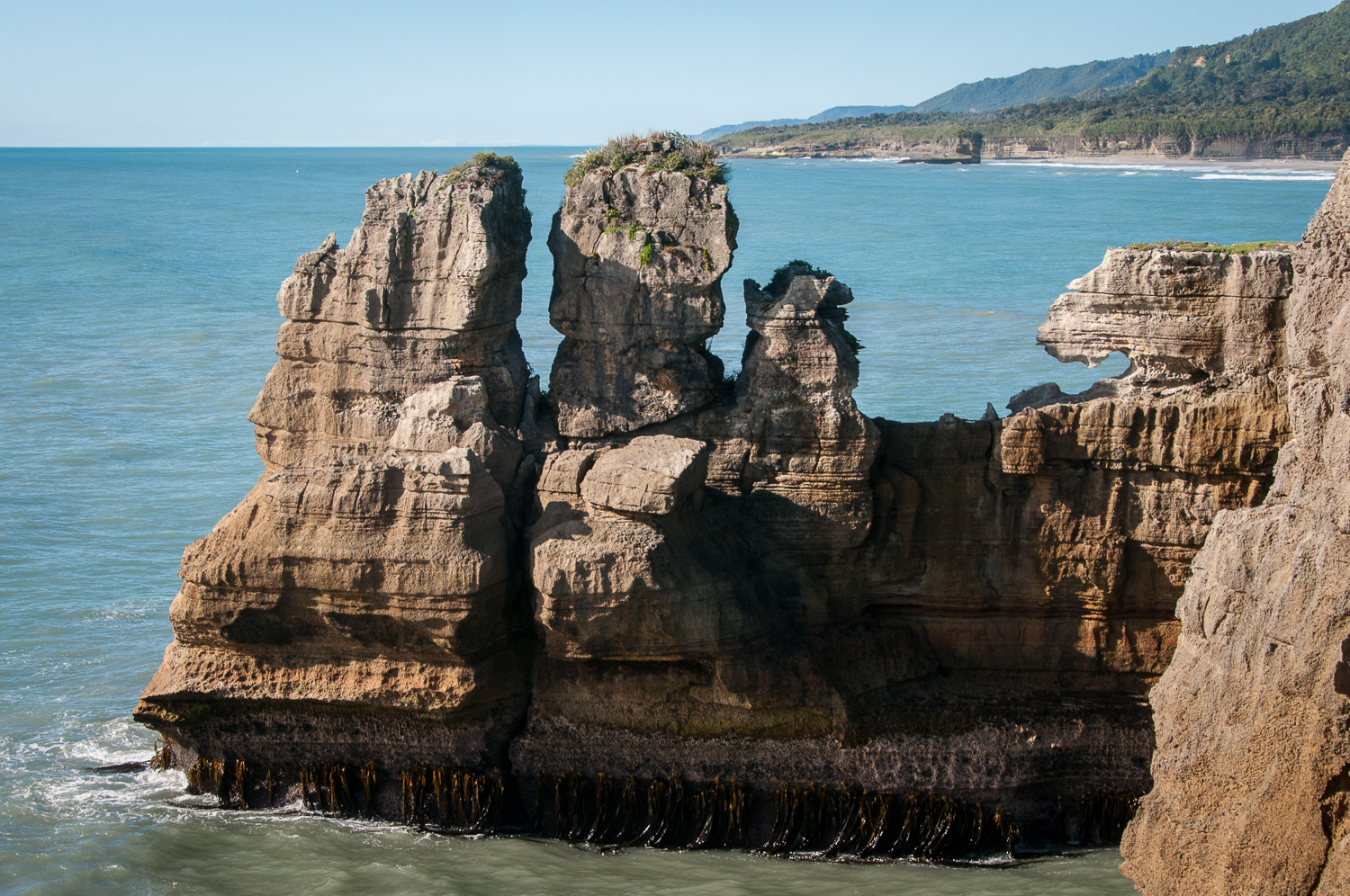 Pancake Rock Figures