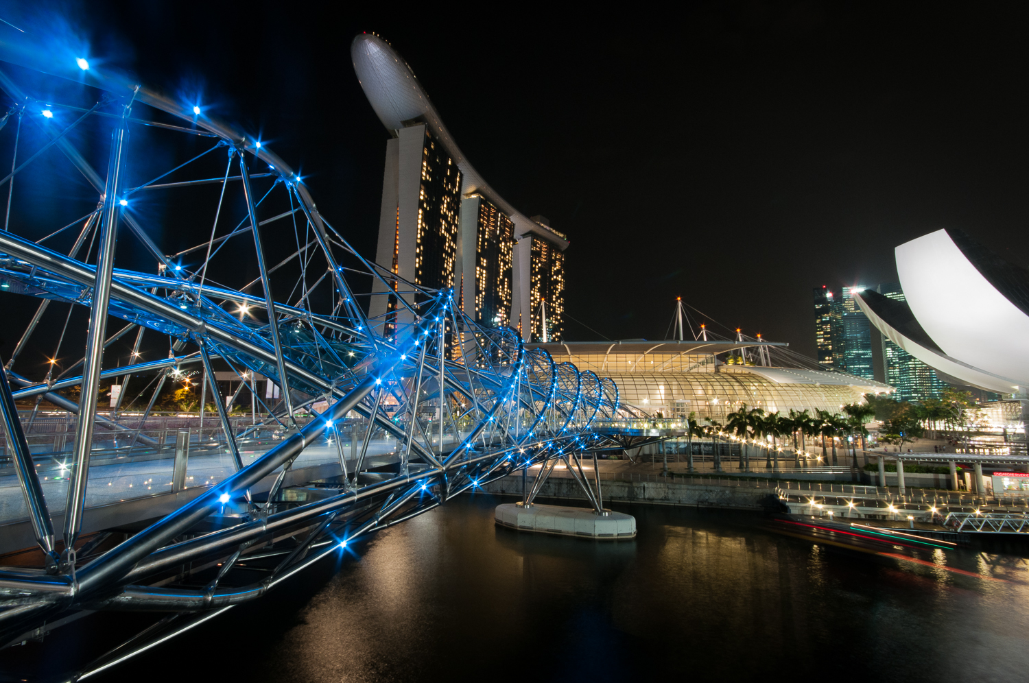 The Helix Bridge Singapore