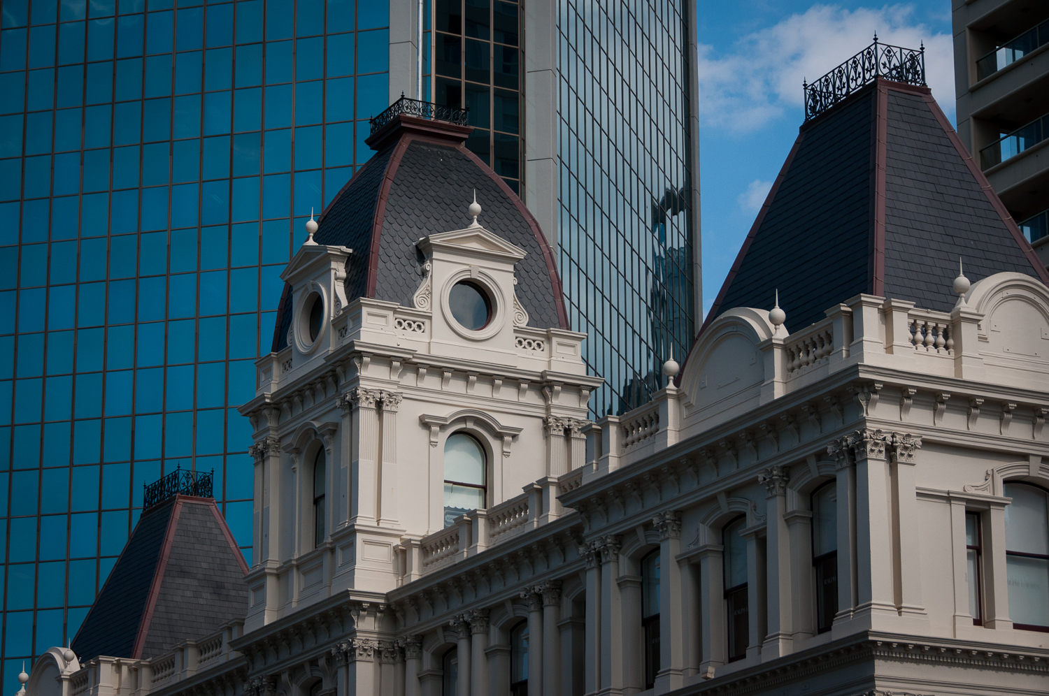Auckland old and new buildings