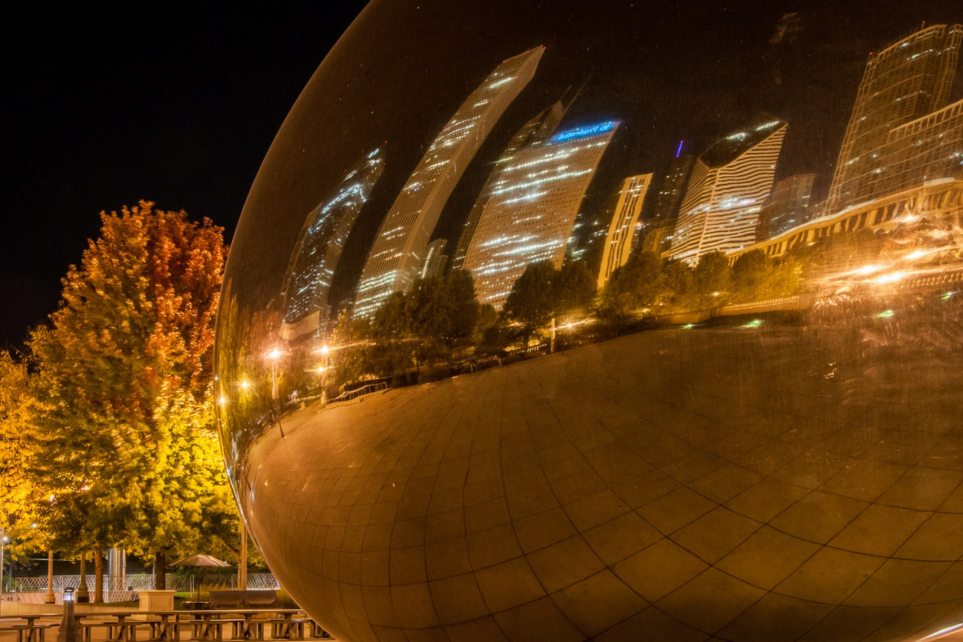Cloud Gate Closeup