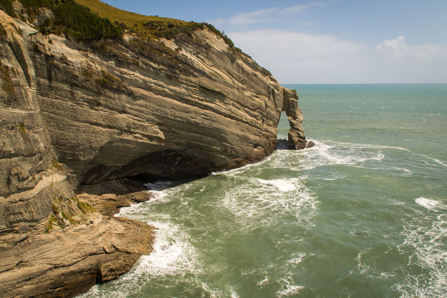 Archway at Cape Farewell