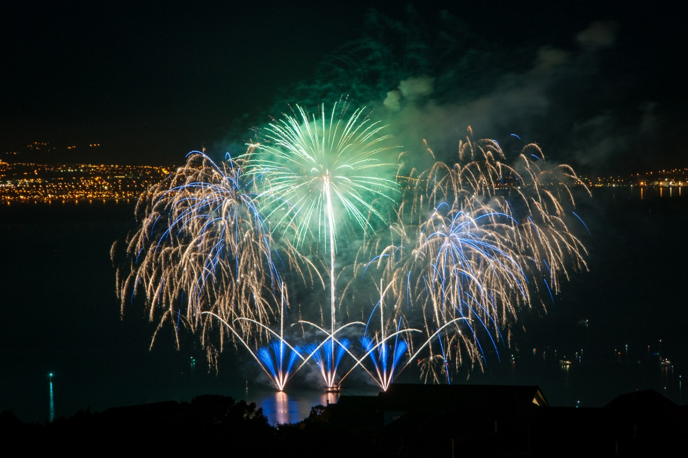 Wellington Fireworks Display 2014